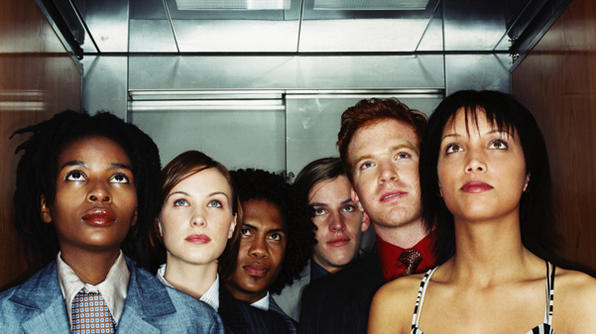 people in elevator(2)